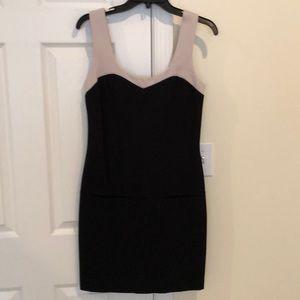 Trina Turk black & cream dress